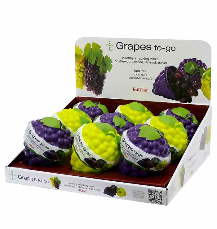 Snack Attack Grapes to-go Counter Display