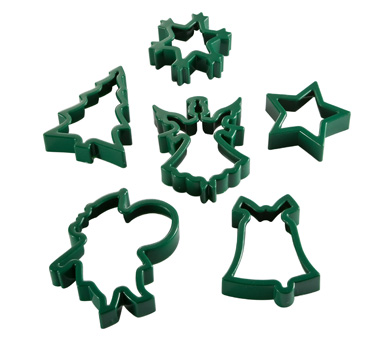 Yule Cheer Cookie Cutter Set
