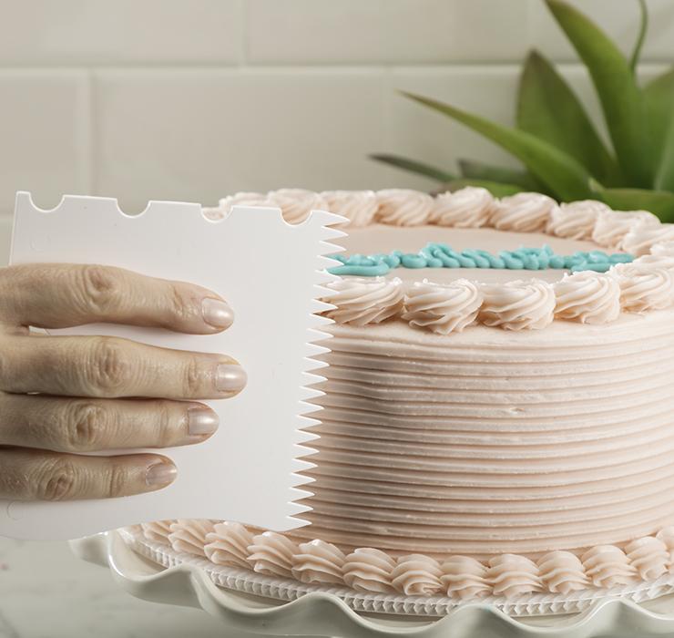 Cake Edger, 4 designs in 1