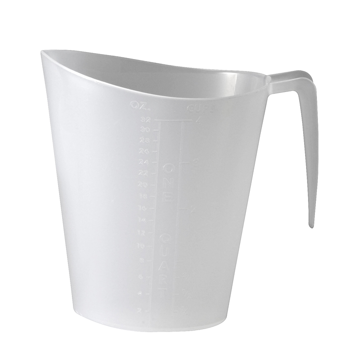 One Quart Pitcher, graduated