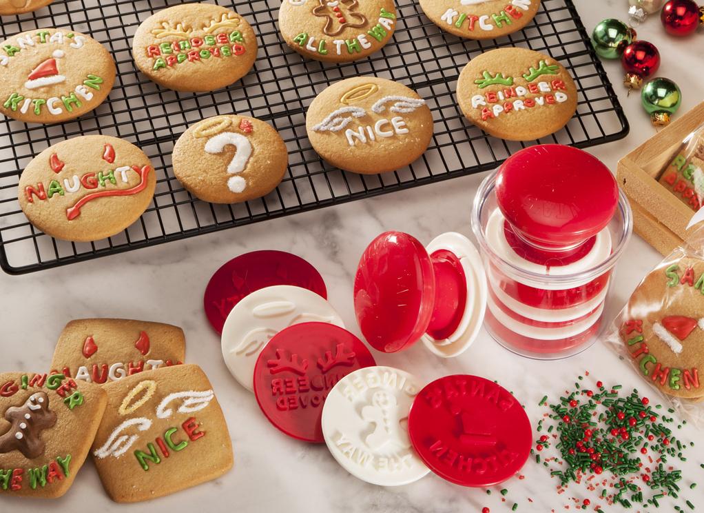 Santas Kitchen® Cookie Stamp Set