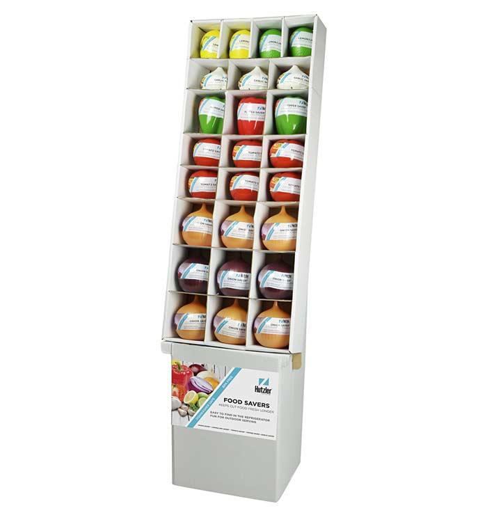 Assorted Food Saver Floor Display