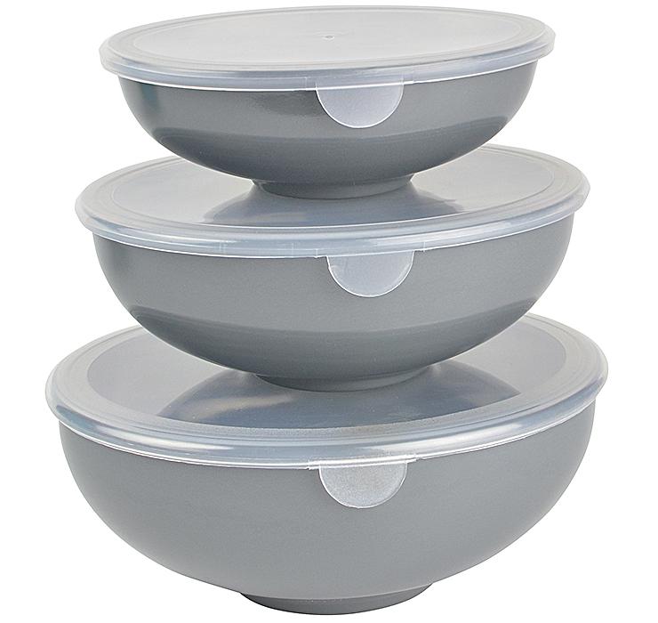 Prep Bowls Nesting Set Of 3 Hutzler Manufacturing