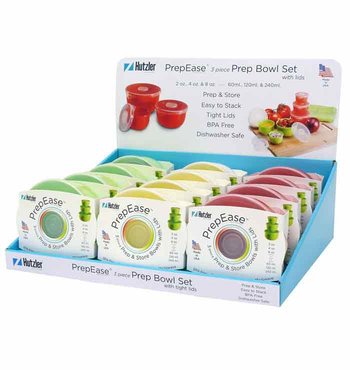 PrepEase® Prep Bowl Set Counter Display