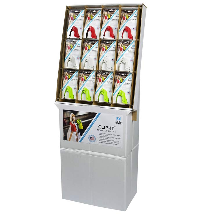 Clip-It, Set of 2 Floor Display