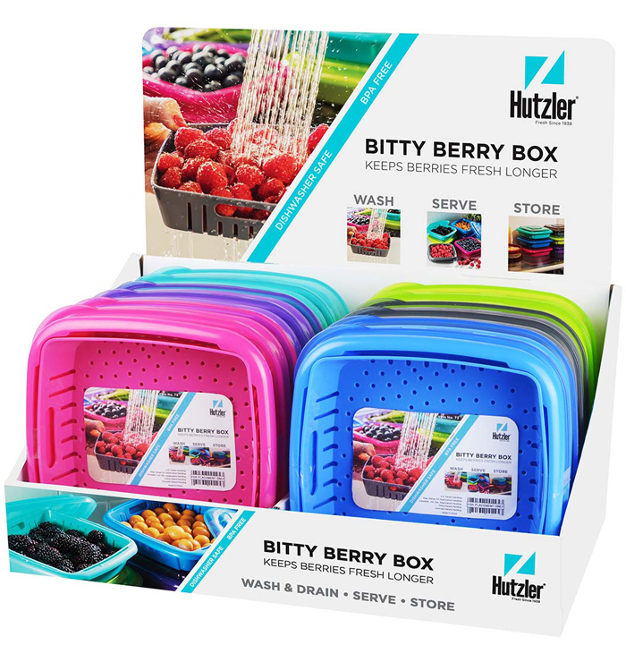 Bitty Berry Box Counter Display