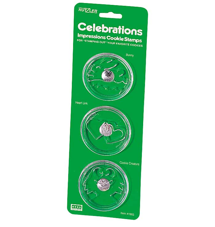 Celebrations Cookie Stamps, Set of 3