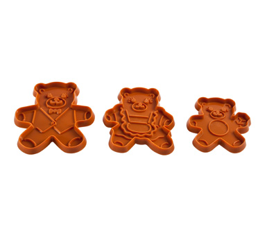 3 Bears Cookie Cutters