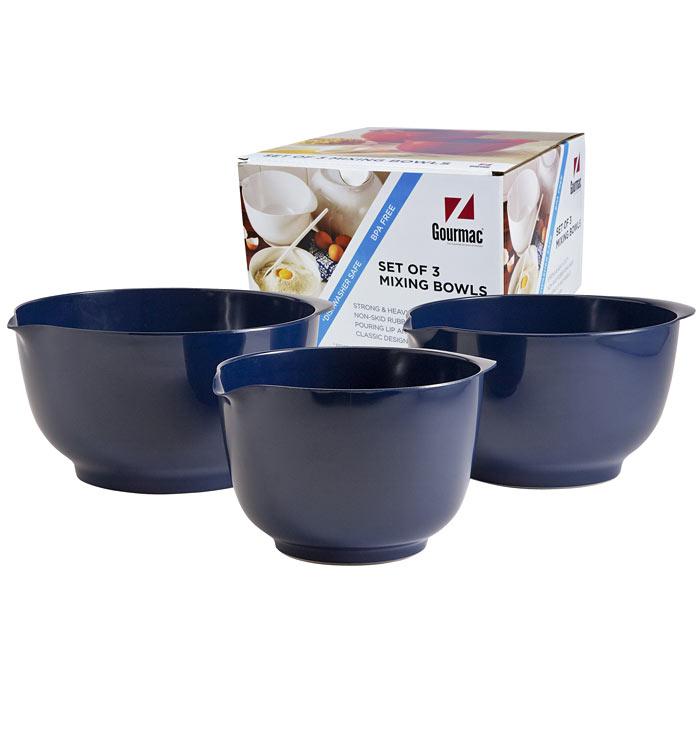 2, 3, & 4 Liter Melamine Bowl Set
