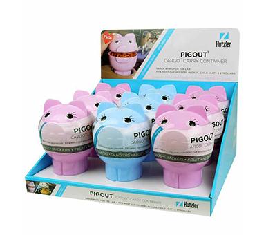 PigOut® CarGo Container Counter Display