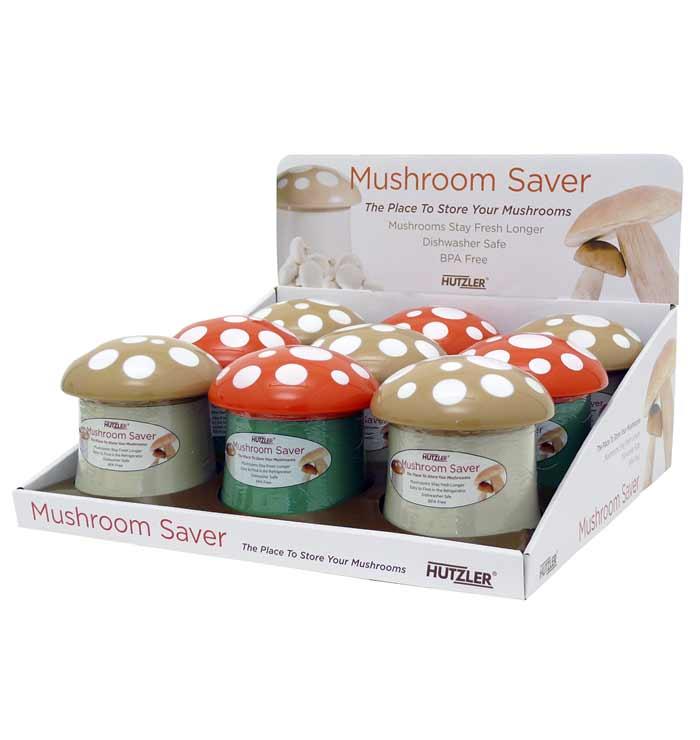 Mushroom Saver Counter Display