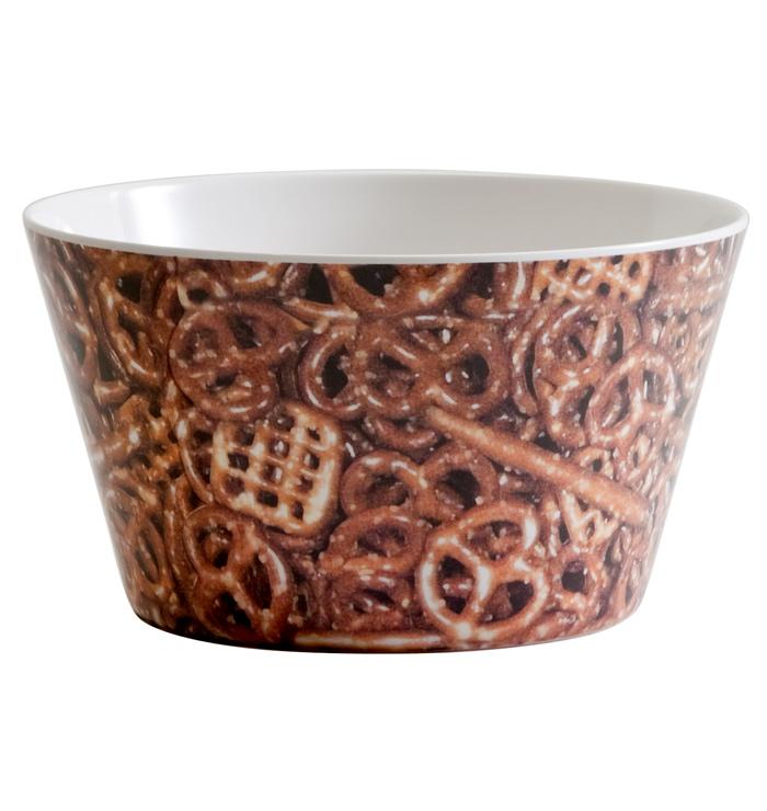 Pretzels Snack Bowl