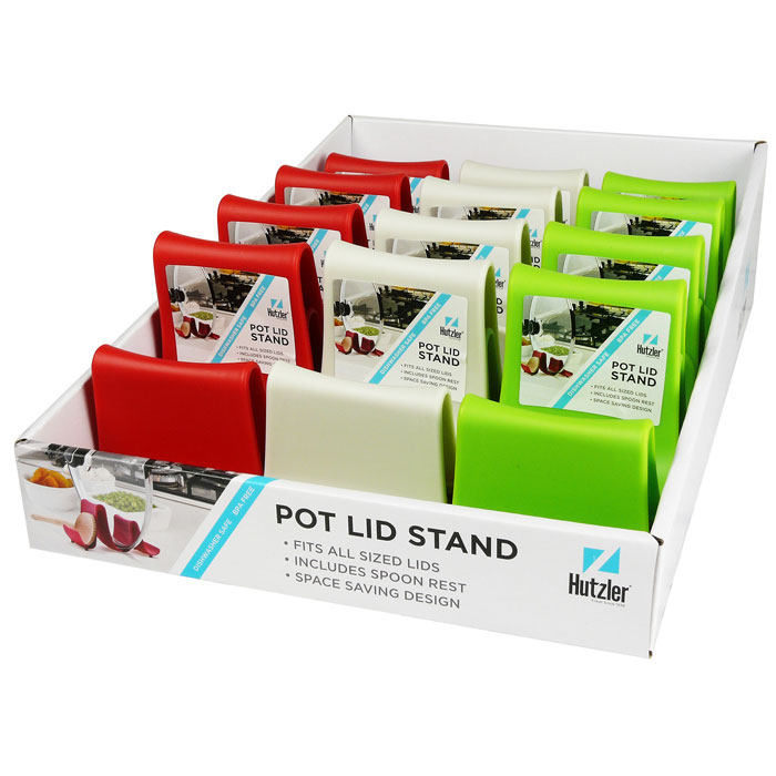 Compact Pot Lid Stand Counter Display