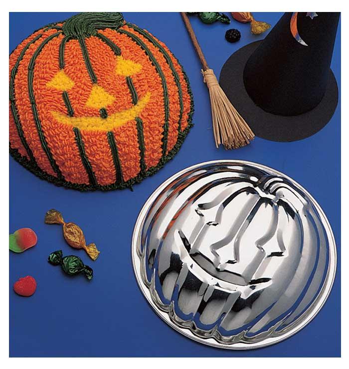 Halloween Pumpkin Cake & Gelatin Mold