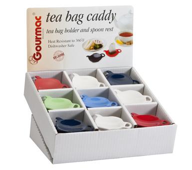 Tea Bag Caddy Counter Display