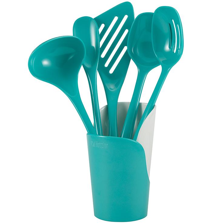 6-pc. Cook, Serve, & Store Utensil Set