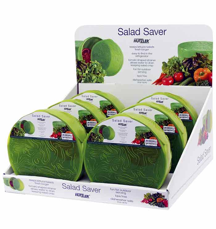 Salad Saver Counter Display