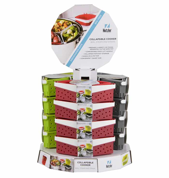 Collapsible Cooker Counter Display