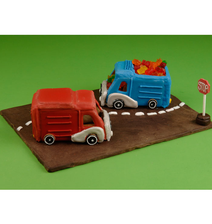 Cookie Town - Delivery Truck