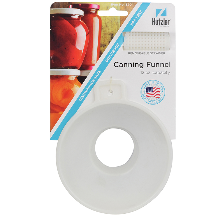 Canning Funnel with Removable Screen
