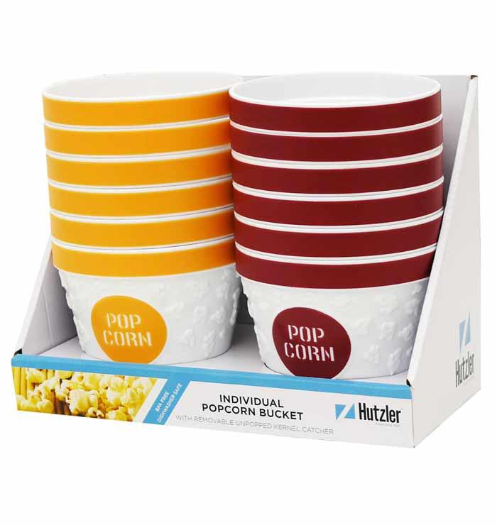 Gourmac Popcorn Bowl - Individual-sized Counter Display (12 pcs)