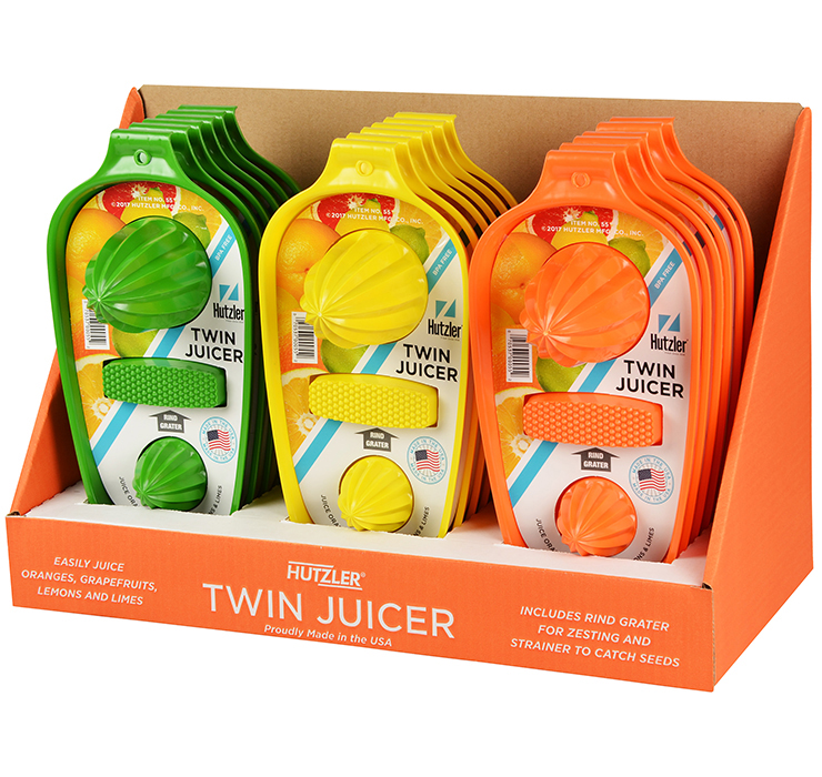 Twin Juicer Counter Display