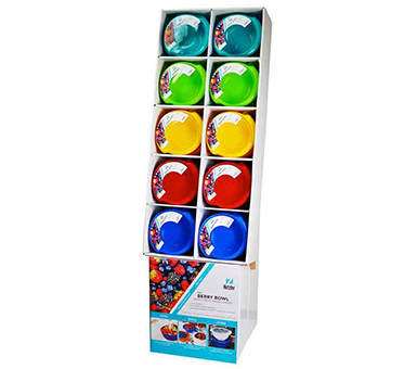 3-in-1 Berry Bowl Floor Display