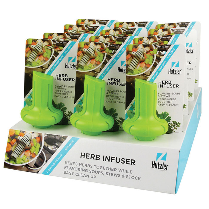 Herb Infuser Counter Display