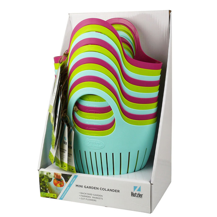 Mini Garden Colander® Counter Display